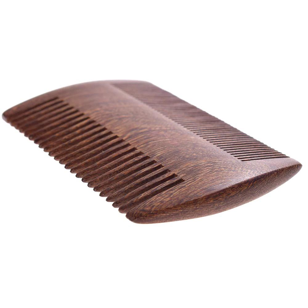 Le peigne à barbe en bois