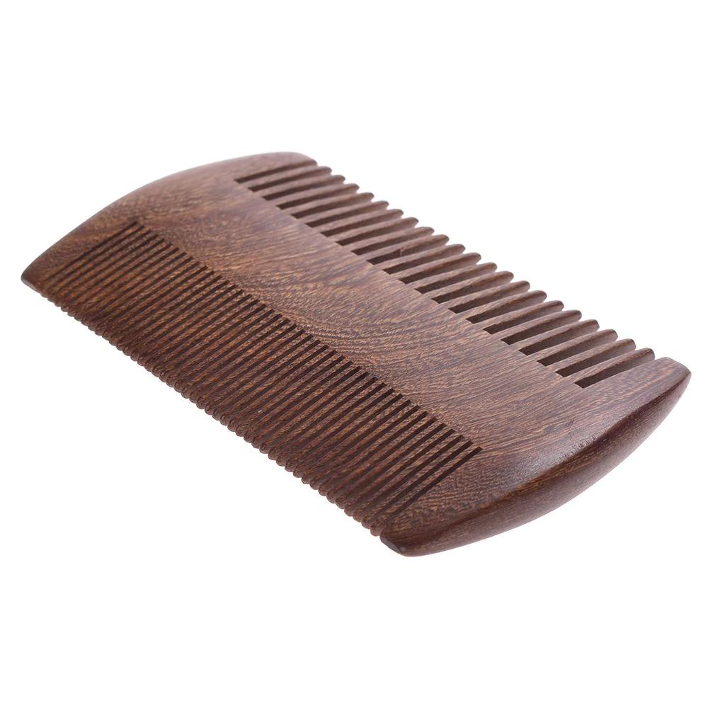 Peigne à barbe bois