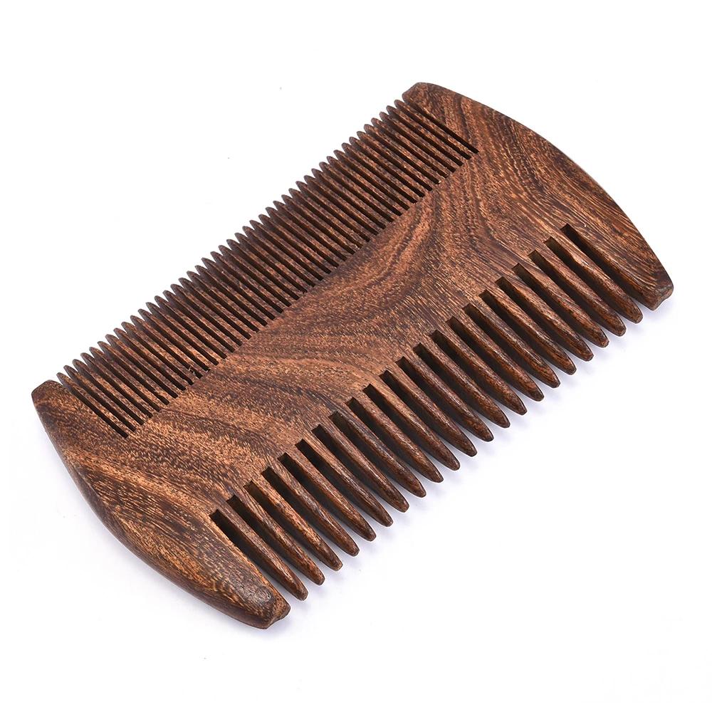 Peigne barbe bois
