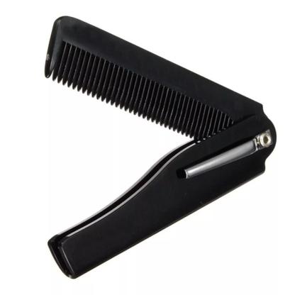 Peigne à barbe pliant