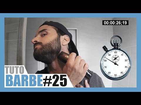 Tailler sa barbe en moins d'1 minute !?
