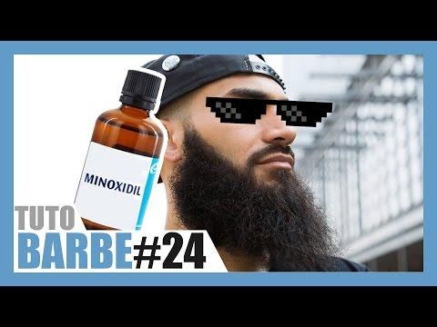 Le MINOXIDIL pour faire pousser sa barbe ?