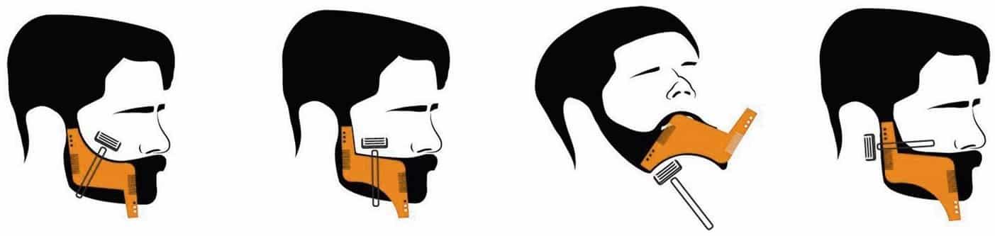 pochoir-barbe