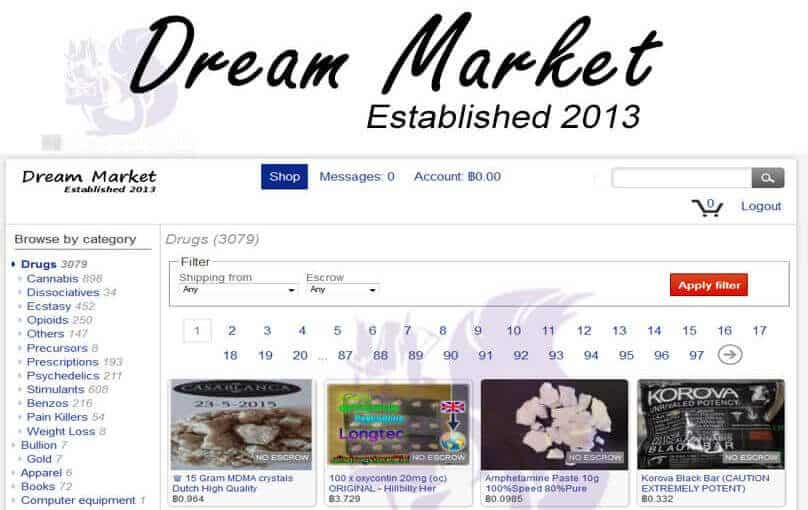 Dream Market URL Darknet Review